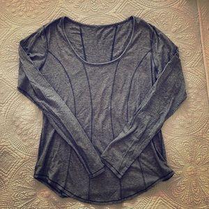 Lululemon Long Sleeve Round Neck Top